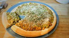 German Onion Tart (recipe in comments) : veganrecipes