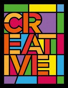 CREATIVE - STAINED GLASS » Tipografia - Urban Arts (papel matte - 36 x 47,5 - moldura preta lisa)  - R$ 228