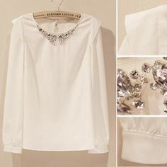 2013 round neck chiffon shirt -  http://zzkko.com/book/shopping?note=23613 $14.83