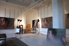 Name: Alyssa Monks, artistLocation: Brooklyn, New YorkSize: 1,000 square feetYears in business: Since 2000 What good comes out of perusing the internet for hours late at night? Finding the work and workspace of Alyssa Monks on The Jealous Curator. Seeing Alyssa's funky artist loft space and knowing this is how she spends her days really makes you want to give up your day job.