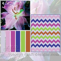 Colour Palette Purple Lily by Stacey's Craft Designs
