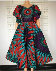 2020 Beautiful African Dresses For African Woman To Try Out … – Donne e Moda Short African Dresses, Latest African Fashion Dresses, African Print Dresses, African Print Fashion, Africa Fashion, African Dress Styles, African Women Fashion, Modern African Fashion, African Lace
