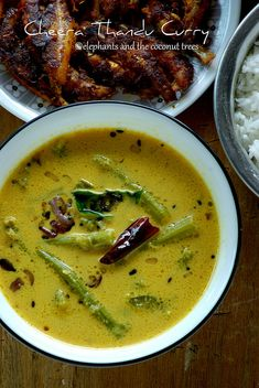 Cheera thandu curry / Amaranth Stem Curry - elephants and the coconut trees Indian Food Recipes, Ethnic Recipes, Kerala Recipes, Coconut Sauce, Kerala Food, Veg Dishes, Fish Curry, Indian Curry, How To Double A Recipe