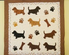 The Universal DOG Quilt 52 x 55 by doodlebugquilts on Etsy