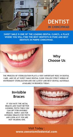 Sweet Smile is one of the leading dental clinics, a place where you will find the best dentists in Pune and best dentists in Pimpri Chinchwad.