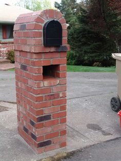 Brick Mailbox Design Ideas, Pictures, Remodel, and Decor - page 3