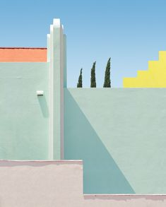 George Byrne's Sweet Colourful Los Angeles Colour Architecture, Minimalist Architecture, Minimalist Photography, Urban Photography, Photography Blogs, Iphone Photography, Color Photography, White Photography, Landscape Photography
