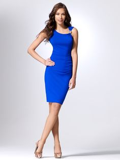 LOOOVE This Color!  Snake Charmer Dress - Cache $138