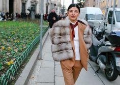 Лучшие стрит-стайл образы мужской недели моды в Милане (фото) - читайте на pre-party.com.ua