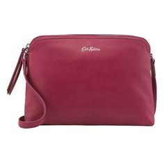 Medium Leather Duo Cross Body Bag | New In Bags | CathKidston
