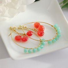 Ocean whisper earrings - Aretes susurro del océano