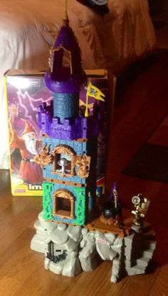 Wizards Tower Toy Set Retired by Fisher Price Imaginext | evezbeadz.artfire.com ($100 pick up at my home)