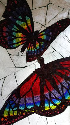 Check out this item in my Etsy shop https://www.etsy.com/listing/532030127/stained-glass-butterfly-mosaic