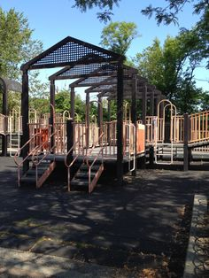 Laurelton playground tries for a bit of architecture feel