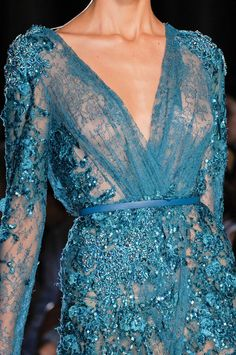 Elie Saab Fall/Winter 2012 Haute Couture Collection - Detail