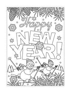 New Year January Coloring Pages Free Printable Fun To Help Kids Adults Welcome 2021 Printables 30seconds Mom In 2021 Coloring Pages Printable Coloring Pages Helping Kids