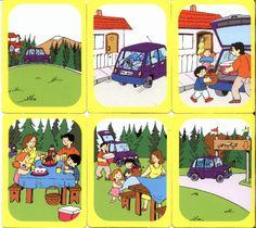 Αρχείο λευκωμάτων Sequencing Pictures, Story Sequencing, Picture Story For Kids, Speech Therapy Games, Preschool Learning, Stories For Kids, Critical Thinking, Kindergarten, Archive