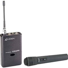 Azden 105HT  105 Series UHF Wireless Microphone System with 15HT Handheld Tran ** Want to know more, click on the image. (This is an affiliate link) #GadgetsHandheldWirelessMic