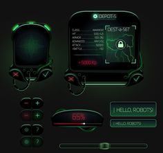 all made only by photoshop (shapes and curves) Game Interface, Interface Design, Game Ui Design, 3d Design, Tech Image, Resources Icon, Photoshop Shapes, Id Card Template, Shapes And Curves