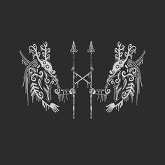 Viking Tattoo Symbol, Norse Tattoo, Viking Tattoos, Viking Symbols, Viking Art, Mayan Symbols, Egyptian Symbols, Viking Runes, Wiccan Tattoos