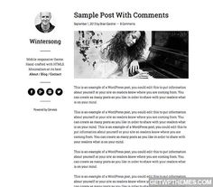 Wintersong Pro 1.0 - StudioPress Free WordPress Theme Download