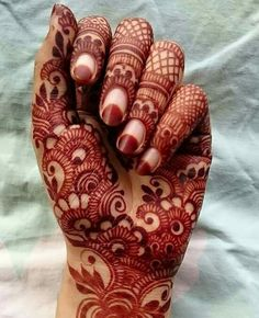Bridal henna or mehndi design