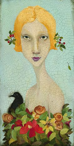 Cassandra Barney - Beauty - LIMITED EDITION CANVAS Published by the Greenwich Workshop