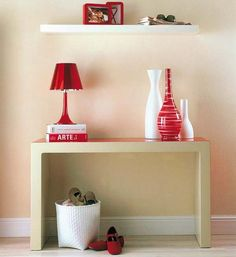 modern console tables for small foyer decorating