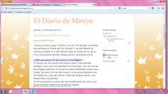 blogger/ El Diario de Mireya