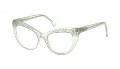 58dc7b6c9036 Affordable Fashion Glasses Cat Eye Eyeglasses Women Keiko Miku Mint Tilt  Fashion Eye Glasses, Cat