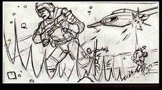 Film Sketchr: Dynamic Unused FIREFLY Storyboards and Concept Design by Charles Ratteray