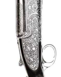 Engraved Purdey Shotgun