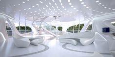 Alman gemi yapımı firması Blohm + Voss için Zaha Hadid superyacht tasarımı