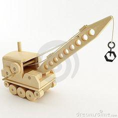Toy Crane by Plutonius, via Dreamstime