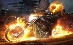 Collection of Ghost Rider Desktop Wallpaper on HDWallpapers Ghost Rider 2 Wallpapers Wallpapers) Ghost Rider Bike, Ghost Rider Marvel, Marvel Heroes, Marvel Dc, Marvel Comics, Ghost Raider, Ghost Rider Johnny Blaze, Ghost Rider Wallpaper, Spirit Of Vengeance