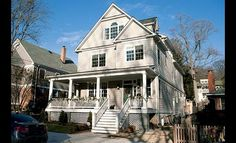 Teacher and journalist Frank #Sesno paid $1.8 million for this #home in #DC's #Palisades. 2/2011. #house #washington #celebrity #luxury #deal