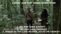 The Walking Dead/Stuff and Things