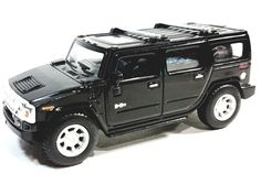 Kinsmart Hummer 2008 Black Hardtop w/Sunroof O Scale SUV Diecast. Boxing Information, Spring Into Action, Hummer H2, Side Door, Collector Cars, Diecast, Brother, Scale, Casual Outfits