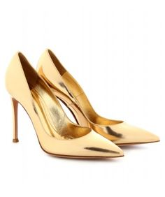 Gianvito Rossi Gold