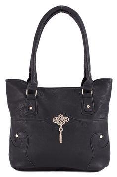 Geanta neagra de dama AHM-39-0704 - Reducere 20% - Zibra Bags, Fashion, Handbags, Moda, Fashion Styles, Fashion Illustrations, Bag, Totes, Hand Bags