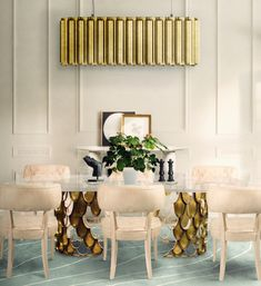 Top Luxury Dining Rooms ➤Discover more interior design trends and news at www.bestdesignguides.com #bestdesigntrends #designguides #DiningRoomTrends #Luxurydiningrooms @bestdesignguides #bestdesignguides @BRABBU | DESIGN FORCES #brabbu #designforces #bybrabbu