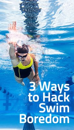 Swimming is the most dreaded of the triathlon disciplines. Here are our favorite tricks to turn pool time into party time.