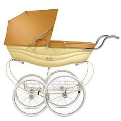 Silver Cross Vintage Balmoral Coach Built Pram in Caramel