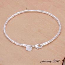 Envío gratis 925 pulsera joyas de plata de la pulsera para para calidad superior venta al por mayor pulseras y brazaletes(China (Mainland))