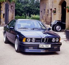 BMW Alpina E24 with 1930s 328 lurking in the background