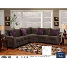 Grey Sectional, Contemporary Sofa, Sofa Design, Recliner, Interior Decorating, Plush, Furniture, Basement, Design Ideas