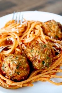 Sun-Dried Tomato Turkey Meatballs - A beloved meatball recipe incorporating one of Italy's most beloved pantry staples—the sun-dried tomato. Perfect to serve with any of your favorite pasta dishes,,