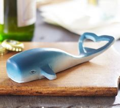 CeciStyle v147: Whale Bottle Opener ($7.50, potterybarn.com) Beckon big waves with this handy whale bottle opener from Pottery Barn ($7.50) that makes it easy to pop open bottles of soda or beer. Set it on the table near a bucket of cold refreshments and your guests can help themselves.