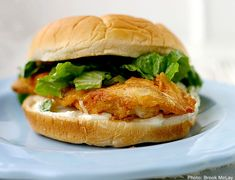 Spicy Chicken Sandwich – Wendy's    The smell from this spicy chicken sandwich cooking in the kitchen will lure the kids away from their video games.