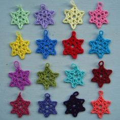 Free pattern from lovely Lucy @ Attic 24 for Little Lacy Stars